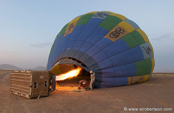 Inflating a Hot-Air Balloon (2)