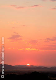 Damaraland Sunset (3) - Click for large image