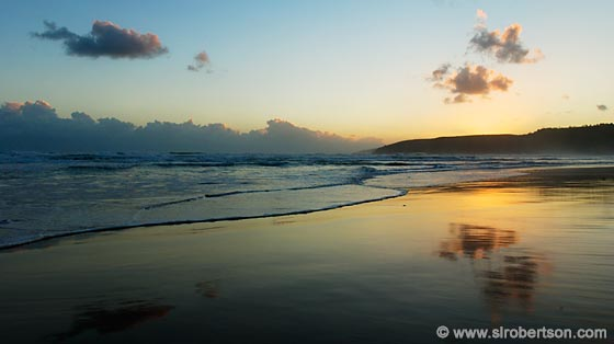 Photo: Sunset at Wilderness Beach (2)