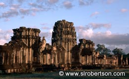 Outer Gate Ruins, Angkor Wat - Click for large image