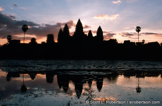 Photo: Angkor Wat at Dawn (1)