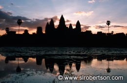 Angkor Wat at Dawn (1) - Click for large image