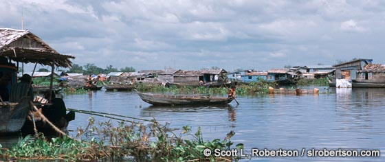 Photo: Floating Village, Ton Le Sap
