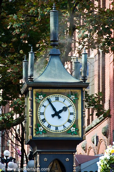 Gastown Steam Clock 2