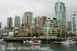 Pictures of Vancouver Skylines