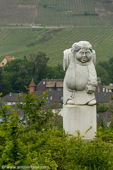 Andlau Vineyard Monk Statue 1