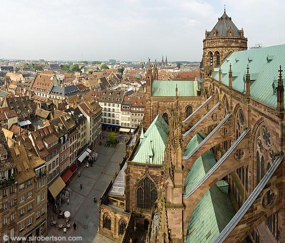 Photo of strasbourg cathedral 17 scott l robertson for Alsace carrelage strasbourg