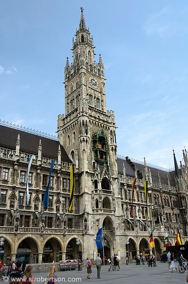 Photo Of Munich Glockenspiel 1 Scott L Robertson