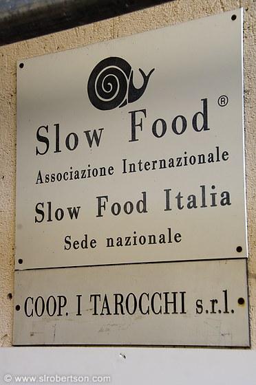 Slow Food Italie Bra