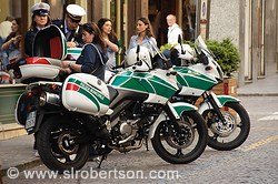 Italy Police Motorcycles