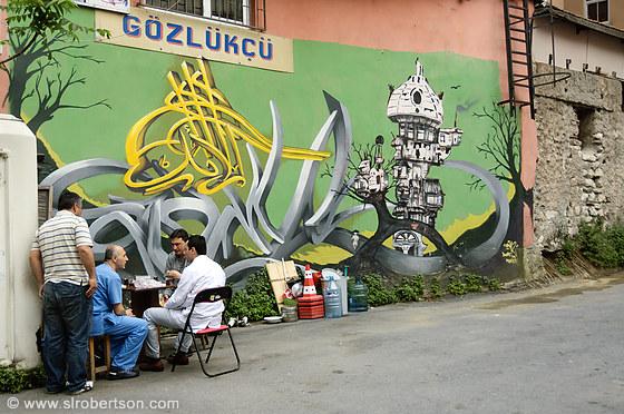 Istanbul graffiti 4