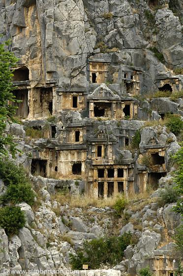 Myra cave tombs 1