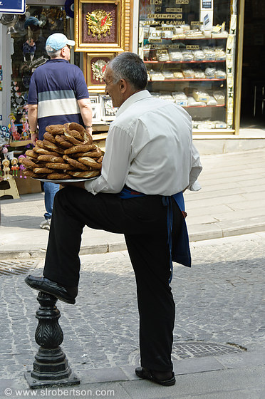 Turkish Bread Seller