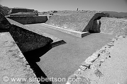 Monte Alban Ball Court 2 BW