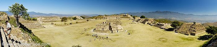 Monte Alban Panorama 2