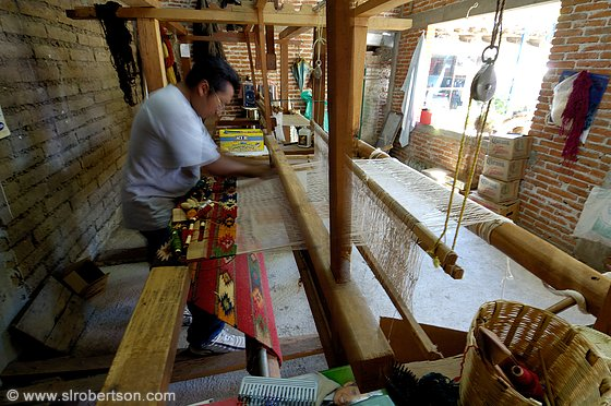 Traditional Carpet Loom, Teotitlan 1