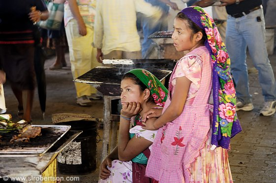 Young Women at the Tlacolula Market