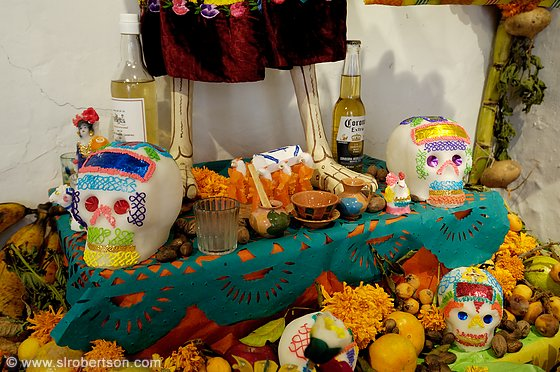 Day of the Dead Altar 1