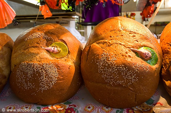 Photo of Day of the Dead Bread 1 - Scott L. Robertson Photography