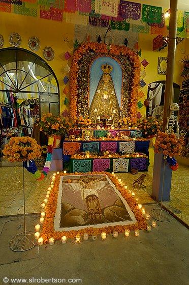 Day Of The Dead Oaxaca Fine Art Painting
