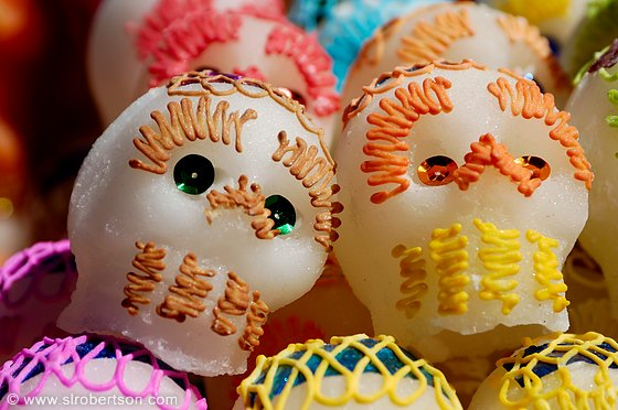 Day of the Dead Sugar Skulls 3