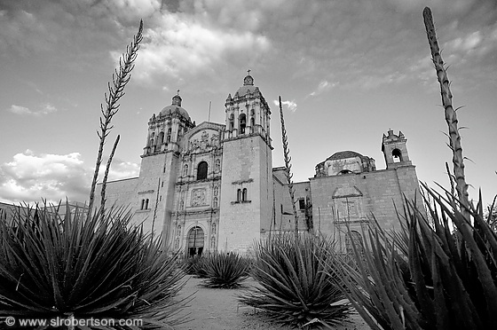 Santo Domingo Cathedral, Oaxaca 5 BW