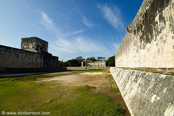 Chichen Itza Ball Court 3