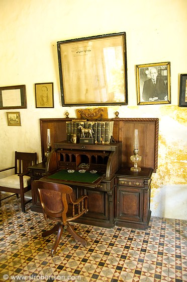 Yaxcopoil Hacienda Desk