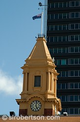 Auckland Ferry Building Clocktower