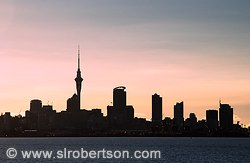 Auckland Skyline at Sunset #2