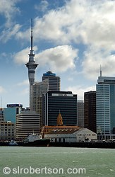 Downtown Auckland Skyscrapers