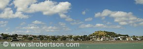 Devonport panorama with Mount Victoria