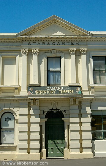 photo of star garter building oamaru repertory theater
