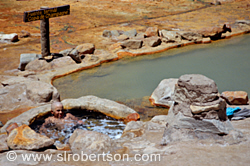 Hot Springs Swimming, Puente del Inca 4
