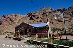 Puente del Inca Train Station 1