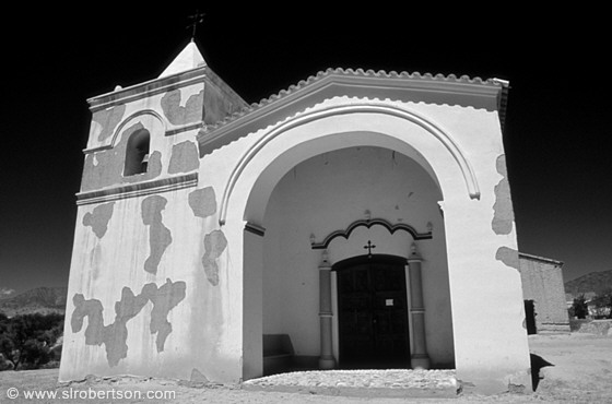 Colonial Church, Angastaco BW 4