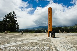 Cayambe Equator Monument 5