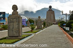 Quito Equator Monument 1