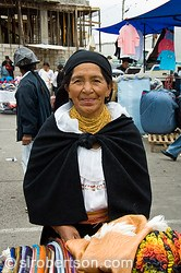 Pictures of Otavalo Market
