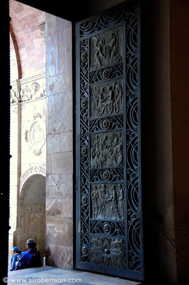 Cuenca New Cathedral Doors