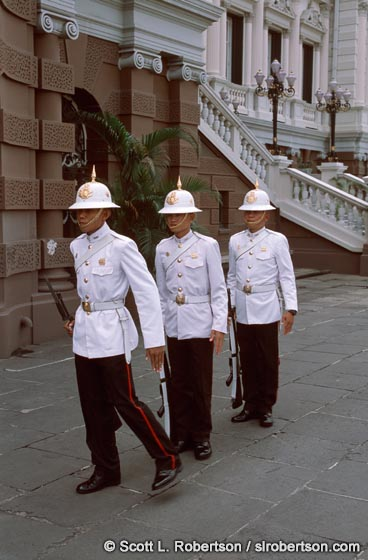 Photo: Grand Palace Guards