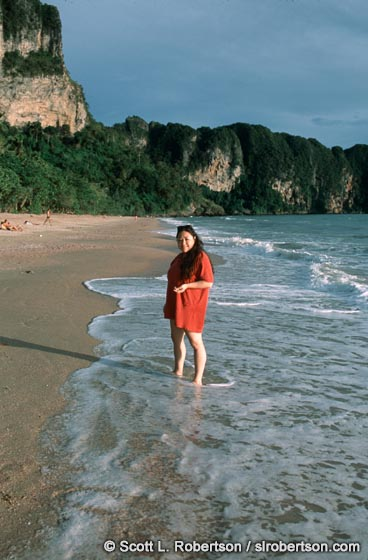 Photo: Nicci on Ao Nang Beach (2)