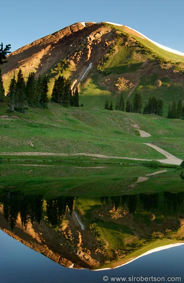 Photo: Paradise Divide Reflection