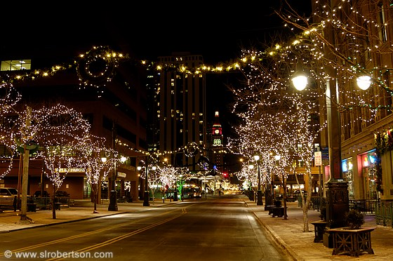 Photo of Downtown Denver Christmas Lights 1 - Scott L. Robertson ...