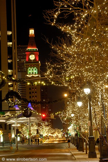 Photo of Downtown Denver Christmas Lights 2 - Scott L. Robertson ...
