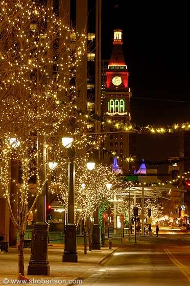 Photo of Downtown Denver Christmas Lights 3 - Scott L. Robertson ...