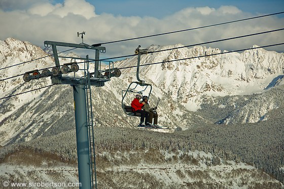 Vail Chair Lift 2