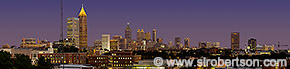 Downtown Atlanta Skyline Panorama