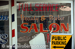 Beauty & Barber Salon, Downtown Atlanta