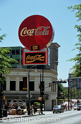 Coca Cola Neon Sign, Woodruff Park, Atlanta 1